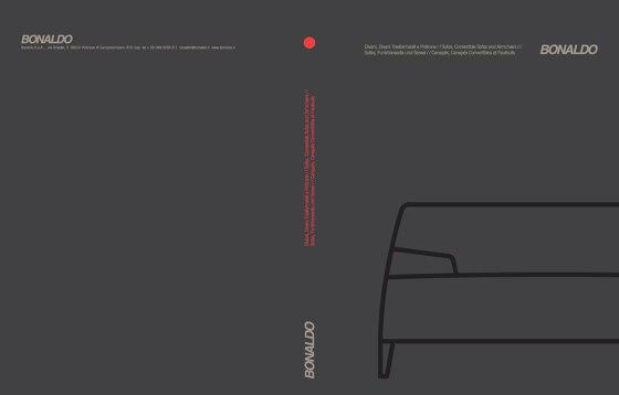 Katalog Sofas, Funktionssofa und Sessel
