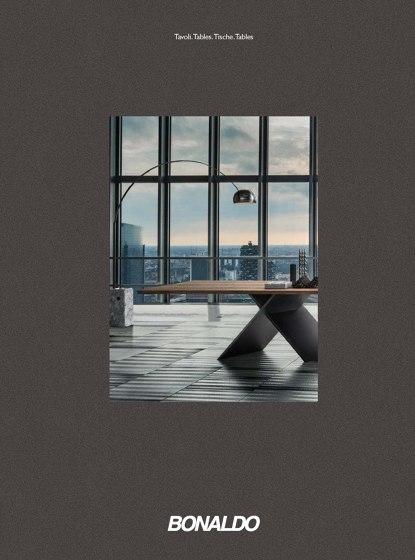 Bonaldo Tables Catalogue 2017