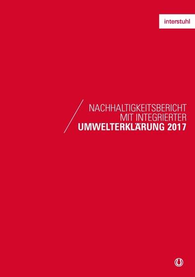 Nachhaltigkeitsbericht mit integrierter Umwelterklärung 2017