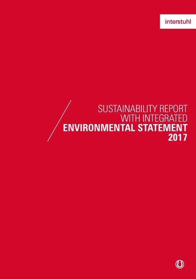 Sustainability report with integrated environmental statement 2017