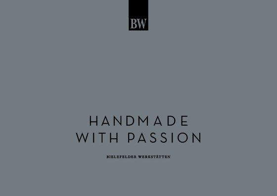HANDMADE WITH PASSION