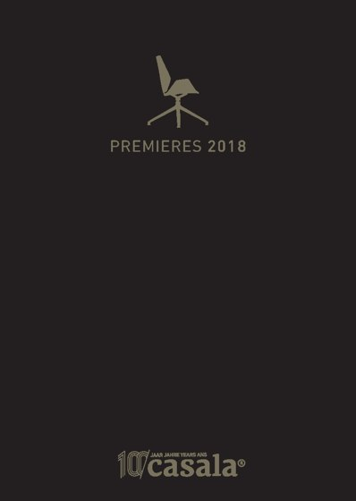 PREMIERES 2018 - 100 YEARS CASALA