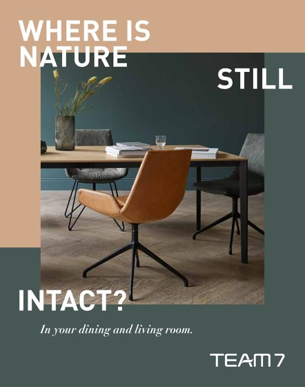 WHERE IS NATURE STILL INTACT ?| In your dining and living room.