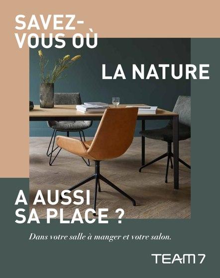 SAVEZ-OÙ LA NATURE A AUSSI SA PLACE ?| Dans votre salle à manger et votre salon.