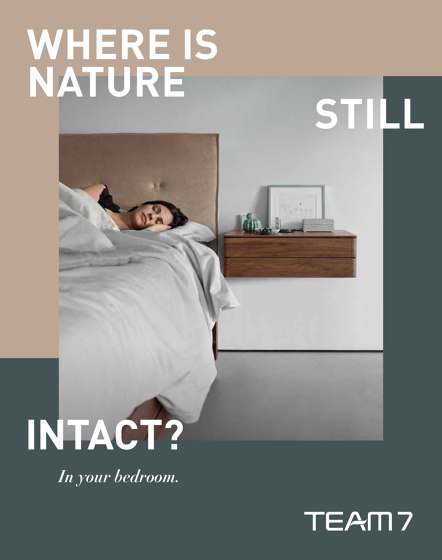 WHERE IS NATURE STILL INTACT ?| In your bedroom.