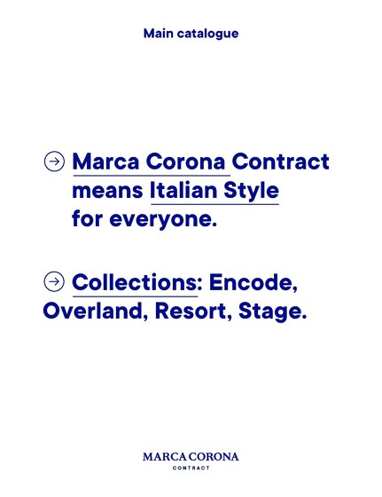 Collections: Encode, Overland, Resort, Stage