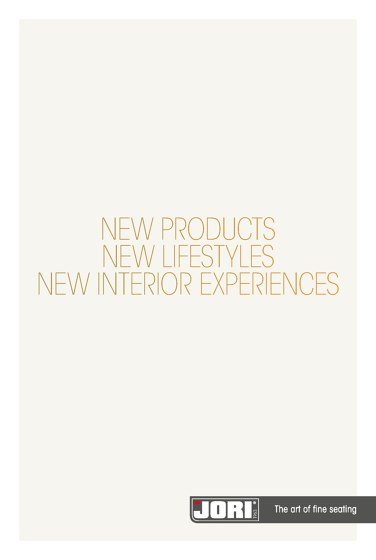 JORI New Products 2017