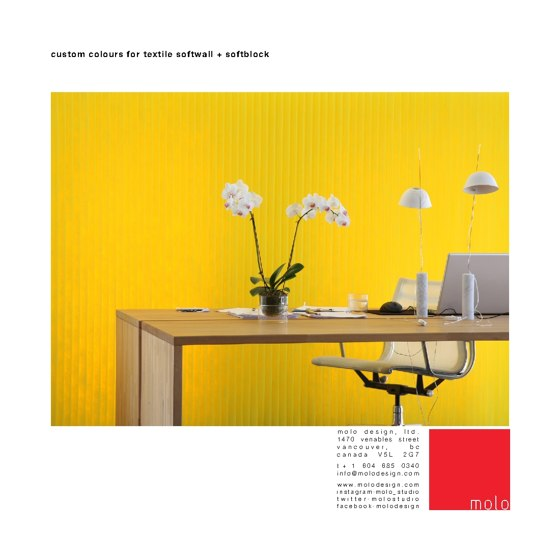 Custom Colour for textile Softwall + Softblock