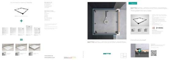 Bette Installation System Universal