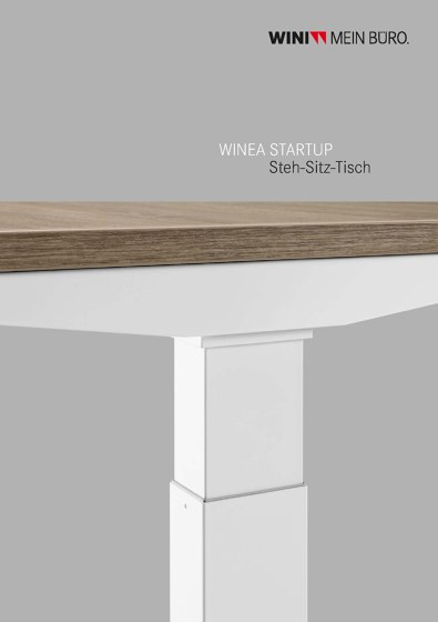 Winea Startup sit/stand desk