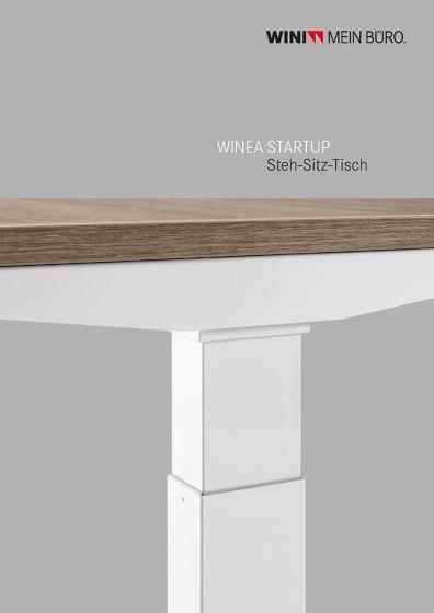 WINEA STARTUP Steh-Sitz-Tisch