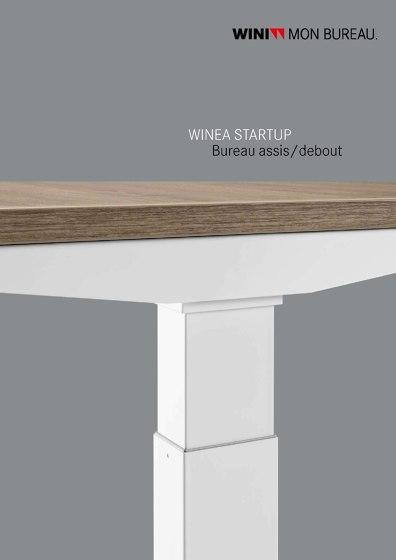 WINEA STARTUP Bureau assis/debout