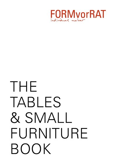 The Tables & Small Furniture Books