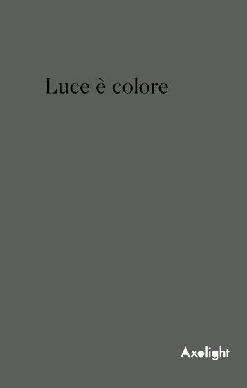 Axolight - Luce è colore