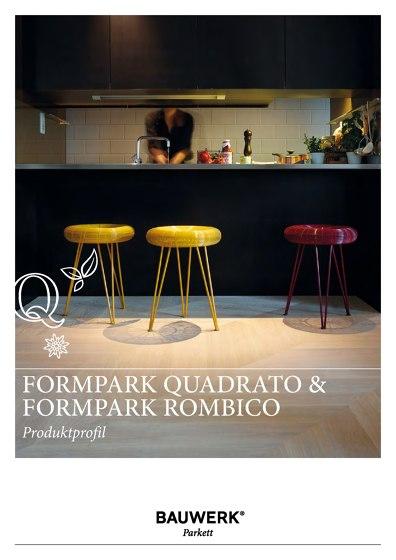Formpark quadrato & Formpark rombico