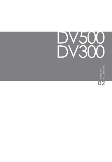 DVO Catalogo DV500-Archiviazione DV300-Accessori