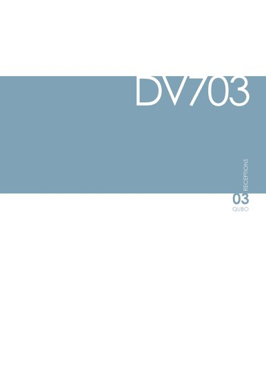 DVO Catalogue DV703-QUBO