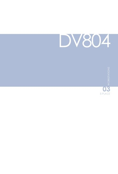 DVO Catalogue DV804-E-PLACE