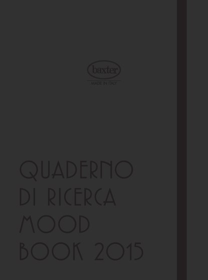 Mood Book 2015
