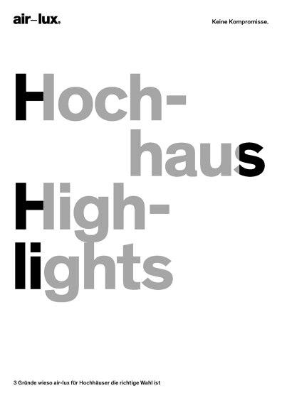 Themenflyer (Hochhaus)