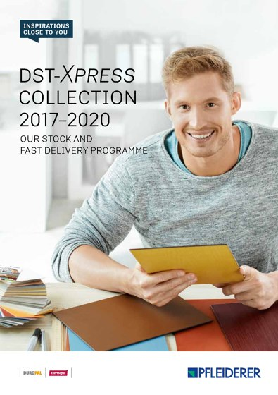 DST XPress Collection 2017–2020 | Our stock and fast delivery programme