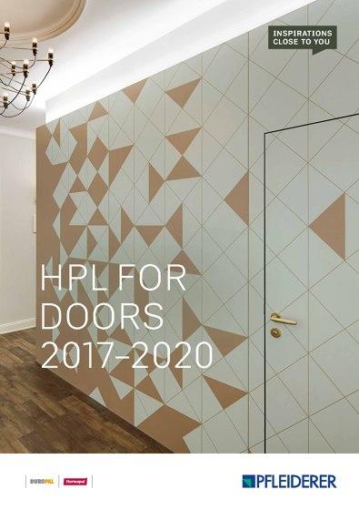 HPL for doors 2017–2020