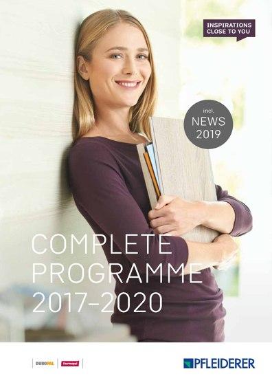 Catalogue 2017 - 2020