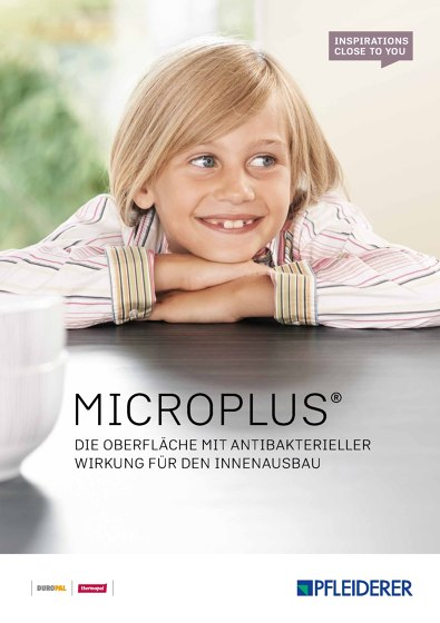 Microplus | Die Oberfläche mit antibakterieller Wirkung für den Innenausbau