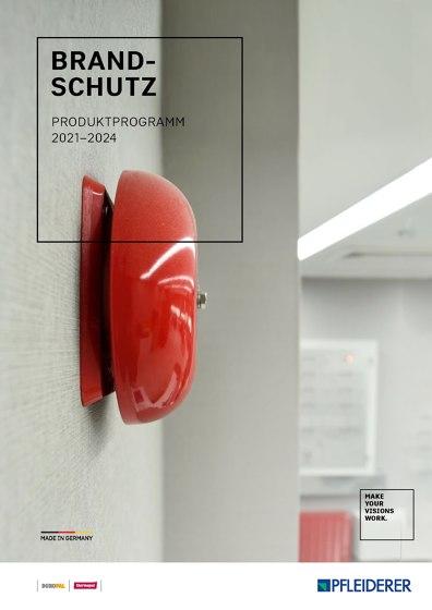 Brand- Schutz Produktprogramm 2021–2024