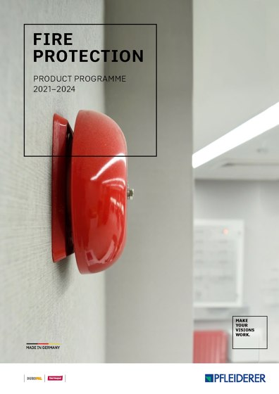 Fire protection product programme 2021–2024