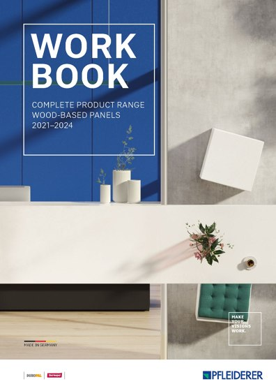 Work Book complete product range wood-based panels 2021–2024