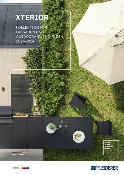 Xterior Kollektion für Fassaden und Outdooranwendungen 2021–2024