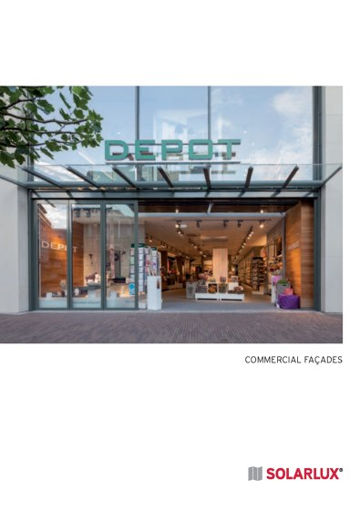 Commercial façades