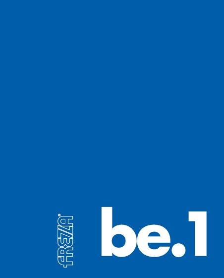 Be.1 Catalog