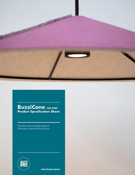 BuzziCone 220-240V