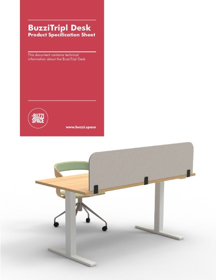 BuzziTripl Desk Catalog