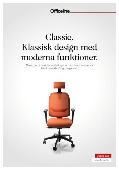 Officeline Classic. Klassisk design med moderna funktioner.