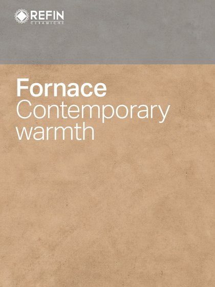 Fornace Contemporary warmth
