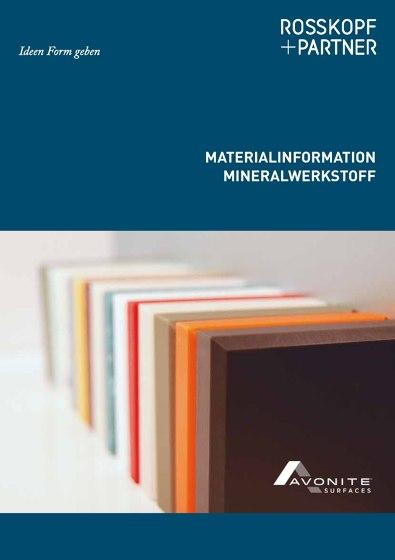 MATERIALINFORMATION MINERALWERKSTOFF