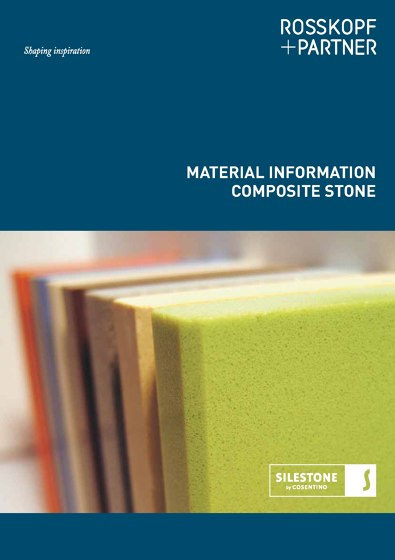 MATERIAL INFORMATION COMPOSITE STONE