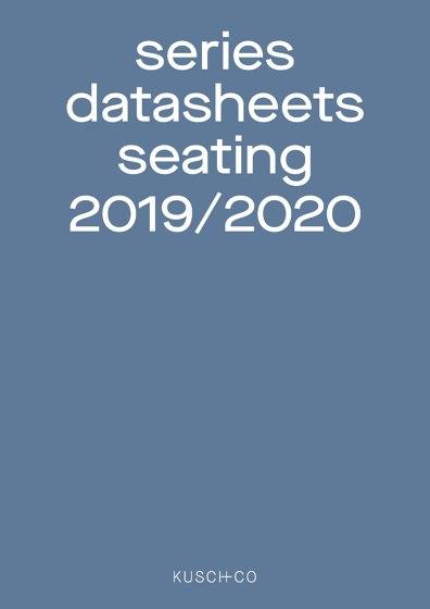 Series Datasheets Seating 2019 / 2020