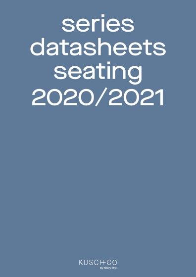 Series Datasheets Seating 2020/2021
