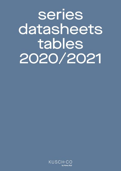 Series Datasheets Tables 2020/2021