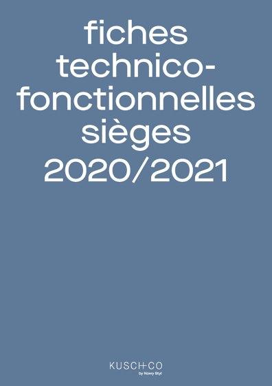 Fiches Technico Fonctionnelles Sièges 2020/2021