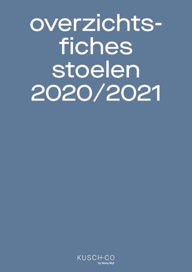 Overzichts Fiches Stoelen 2020/2021