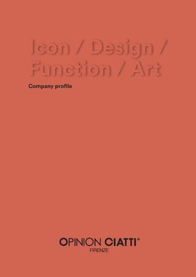 Icon / Design / Function / Art - Company profile