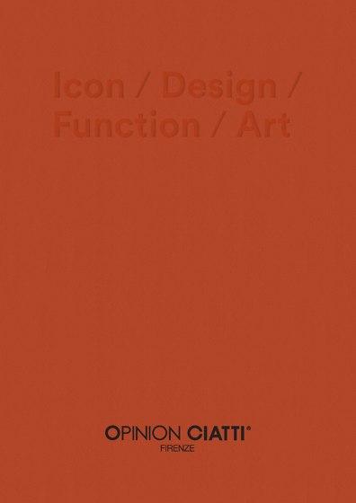 Icon / Design / Function / Art - Catalogue 2021