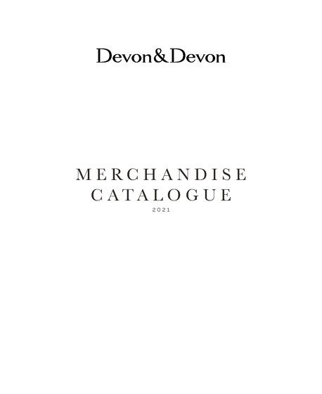 Merchandise Catalogue 2021