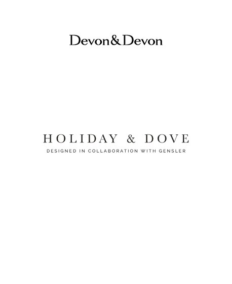HOLIDAY & DOVE | COLLABORATION WITH GENSLER