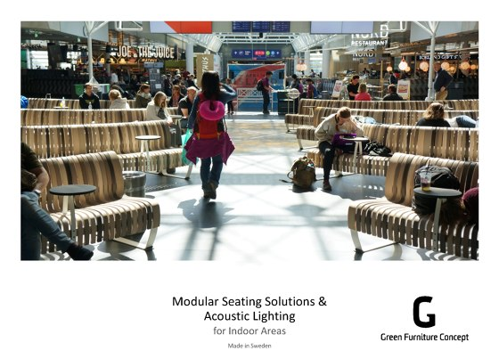Modular Seating Solutions & Acoustic Lighting